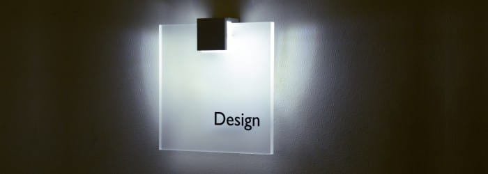 Indoor signs bratti for Interior design signs